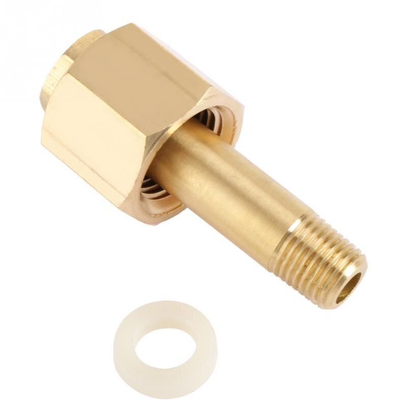 Tuerca reguladora CGA-320 regulador de dióxido de carbono tuerca de entrada y pezón con arandela reguladora CO2