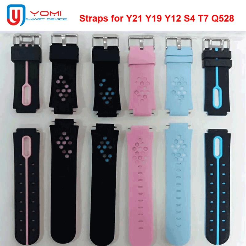 Replace Straps for Kids Smart Watch GPS 20MM watch Belt Silicone Wristwatch Straps 4G Kids Watch cessories