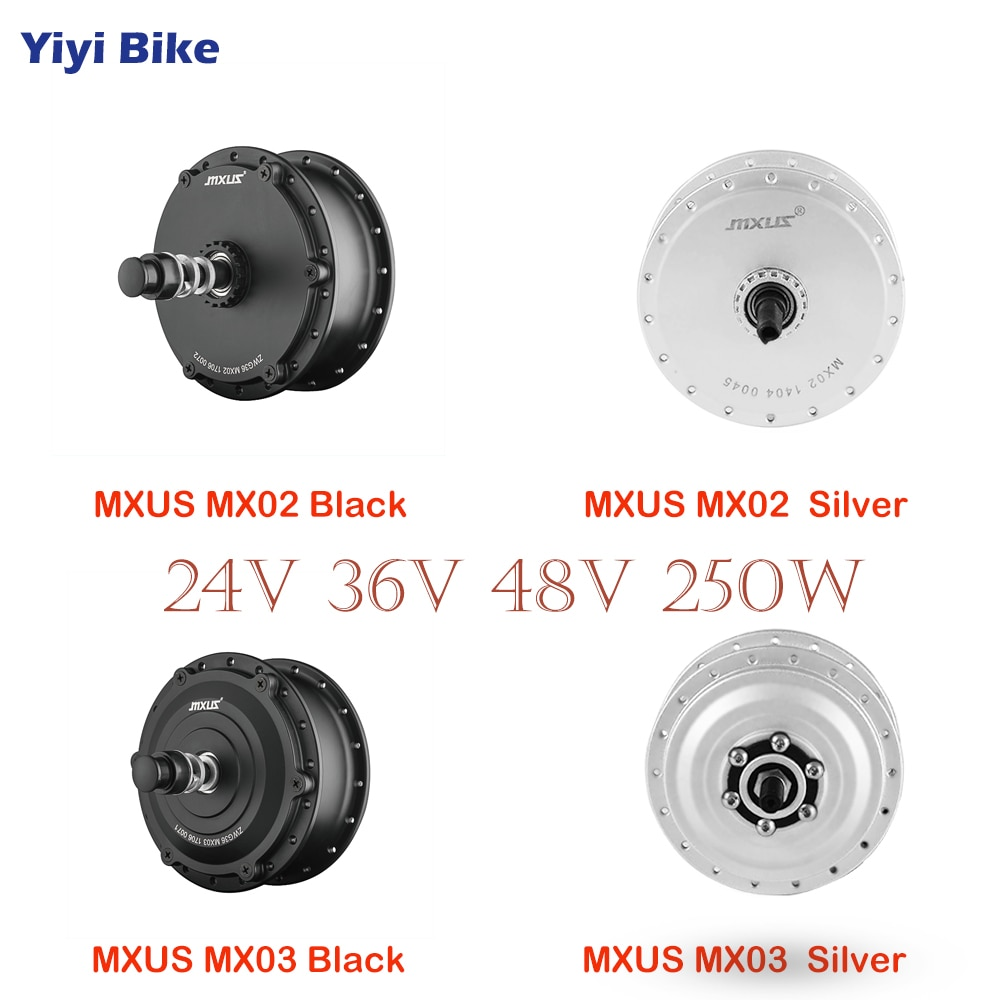 MXUS-Motor sin escobillas para bicicleta eléctrica, Kit de conversión de vehículo eléctrico,...