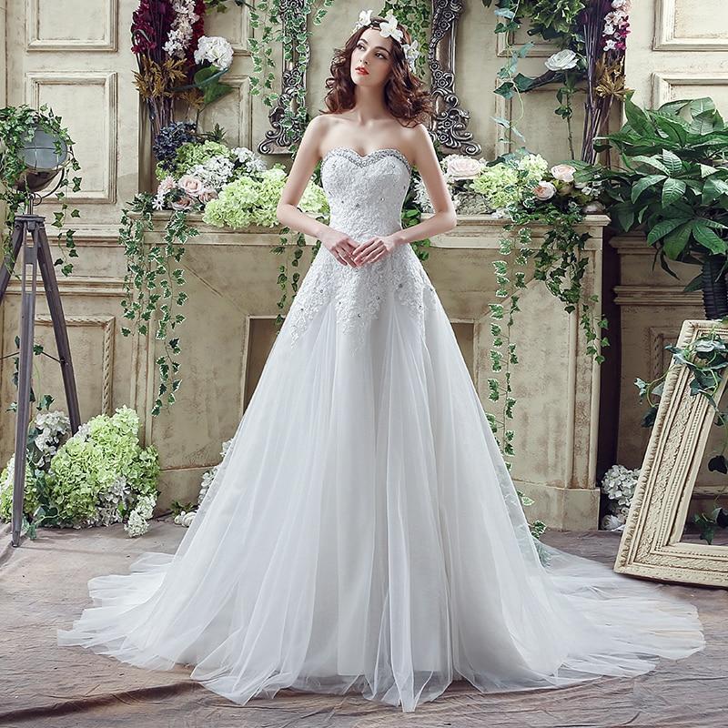 Vestidos de boda de maternidad de amor tamaño grande, elegante, encaje blanco...