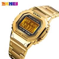 Sports Watches Men Electronic Led Digital Mens Watches Top Brand Luxury Male Clock Waterproof Watch Relogio Masculino SKMEI
