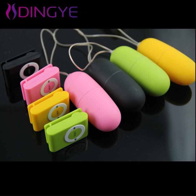 Беспроводной AV вибратор яйцо секс-игрушки для женщин MP3 дистанционное управление вибраторы для женщин прыжок яйцо 20 скоростей пуля интимны...
