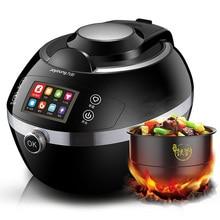 Machine de cuisson Robot intelligente cuisson automatique Cuisine chinoise marmite Wok friture intelligente IH chauffage 104 plats