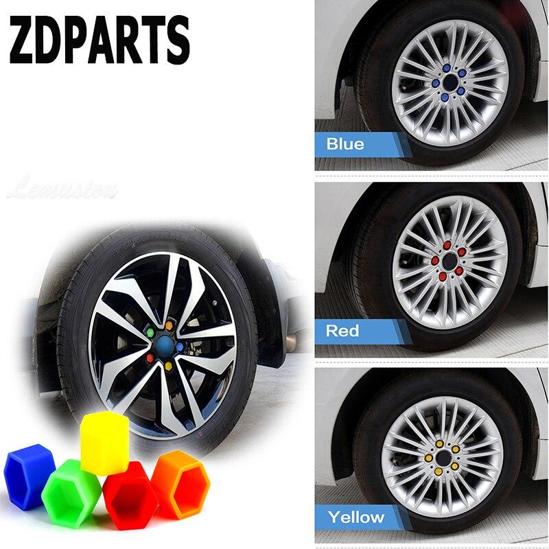 ZDPARTS 20X cubiertas de tornillo de cubo de neumáticos de rueda de coche para Toyota Corolla Avensis Rav4 c-hr Honda Civic Accord Fit CRV HRV Acura