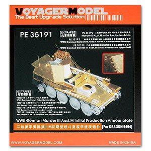 KNL PASSATEMPO Modelo Voyager PE35191 Mink IIIM Auto-Arma Anti-Tanque em Estágio Inicial Sala de Combate Placa de Armadura Etch