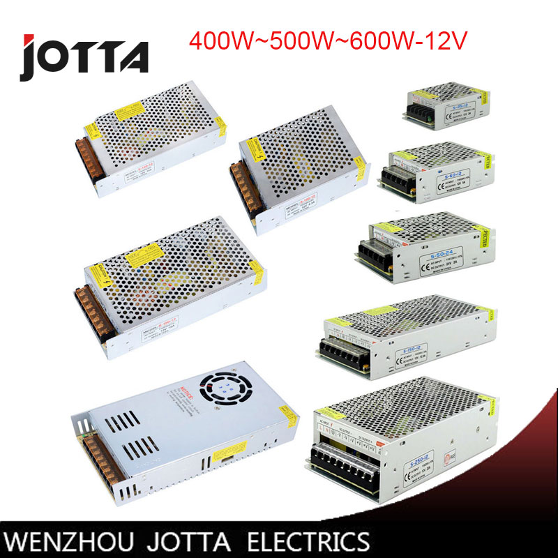 FreeShipping 12V 400W~500W~600W Switching power supply 12v power supply 12v power supply led автоинвертор eplutus pw 12v 600w