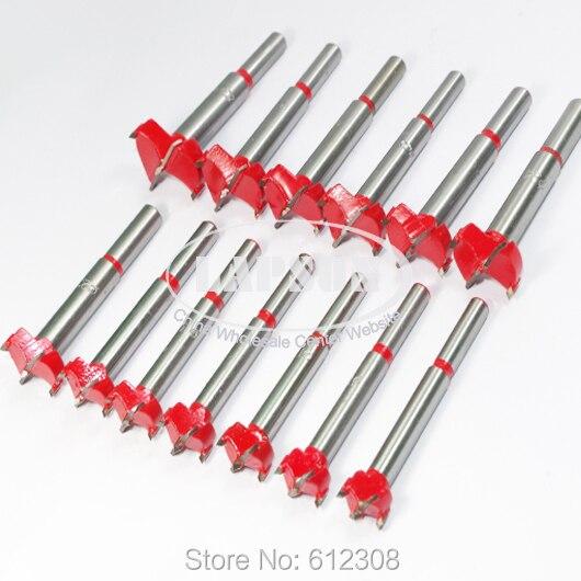 13 unids/lote juego de brocas de sierra de agujero de madera juego de cortador holenaw T Tip 15mm16 17mm 18mm 19mm 20mm, 22mm, 23mm 24mm 25mm 26mm 28mm 30mm