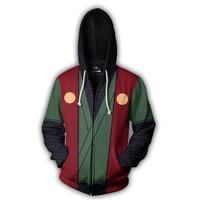 Naruto Hoodie 4th 7th Hokage Uzumaki Naruto Uchiha Sasuke Hatake Kakashi Ootutuki Jiraiya Zipper Coat Outfit Hoodies Sweatshirt