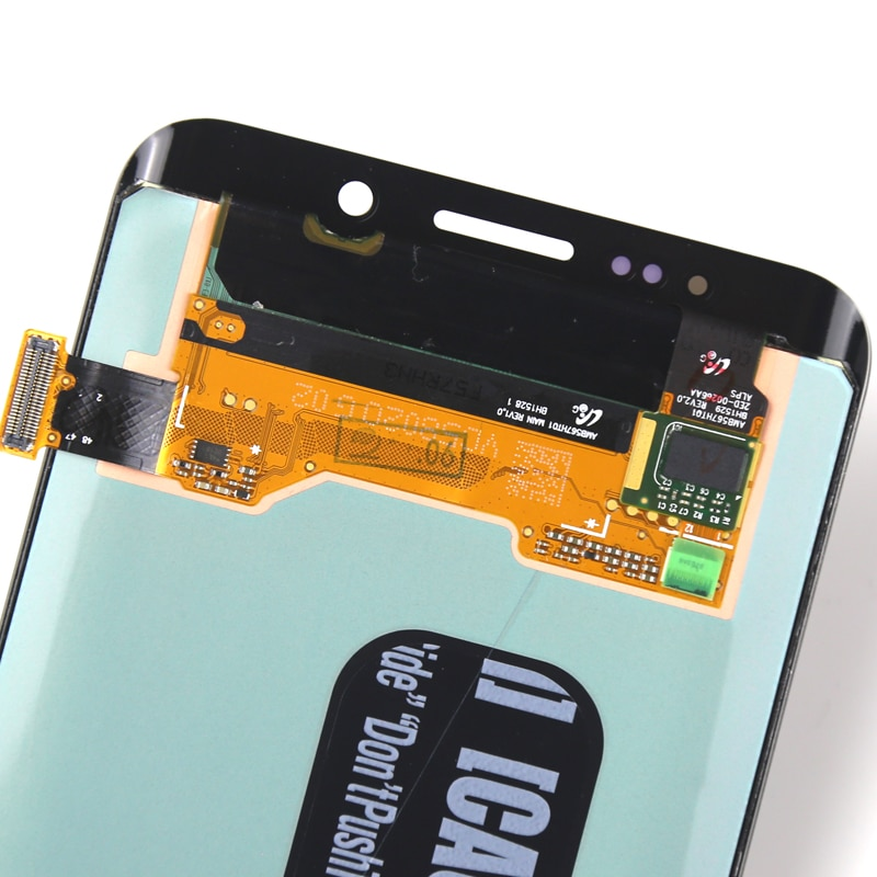 100% Tested For  S6 Plus LCD Dispaly Super AMOLED With Touch Screen Assembly For G928F LCD Screen enlarge