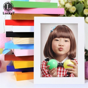 """Hot Style 8"""" Multi-size Room Decor Wooden Picture Photo Wall Frame Single Picture Desk Wall Frame Picture Frame Wholesale"""