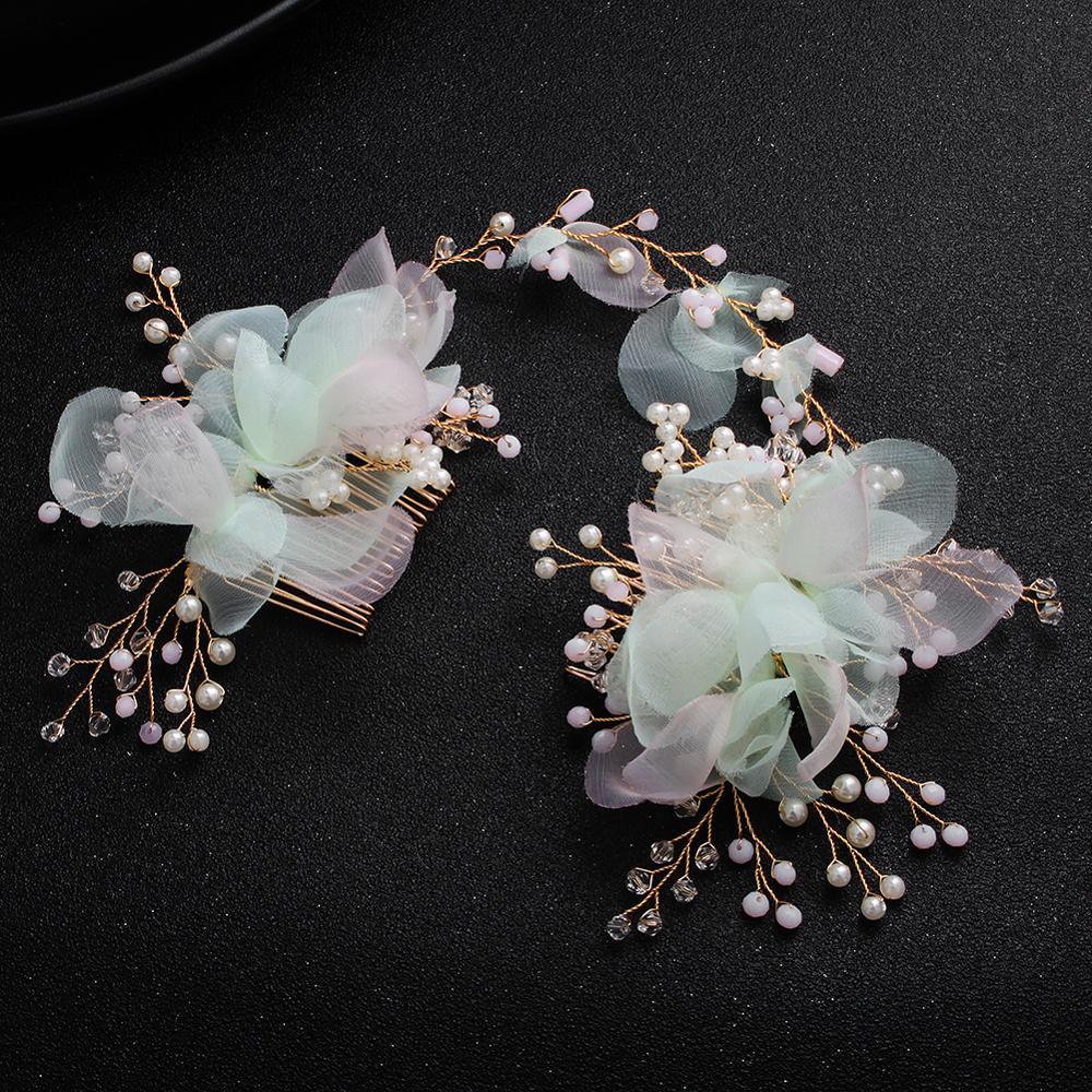 Peine de perlas de moda para damas nupcial fiesta accesorios para el...