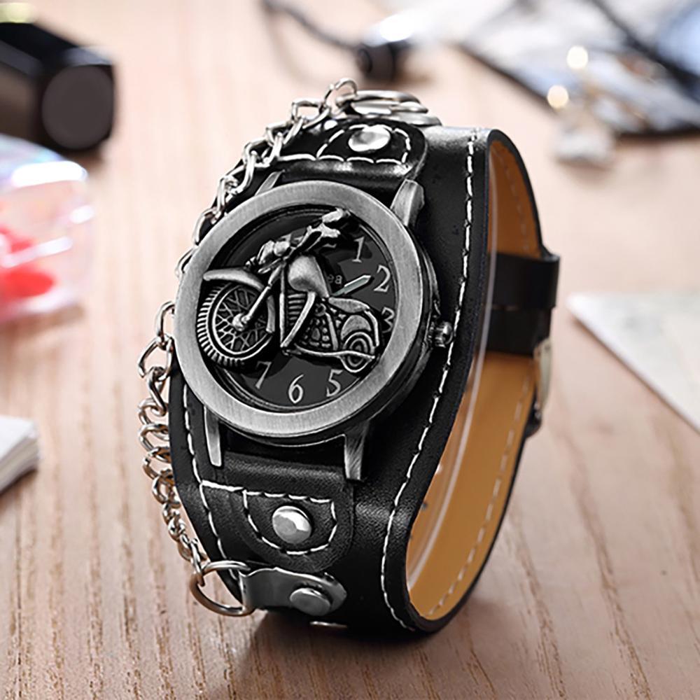 Мужские и женские кварцевые часы, часы-браслет из искусственной кожи с металлическим покрытием