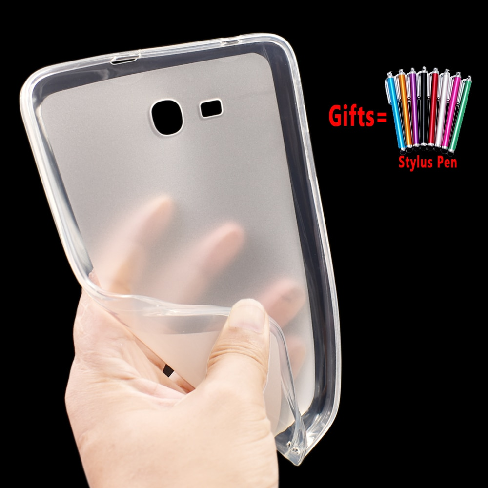 Funda suave de silicona para tableta ecológica para Samsung Galaxy Tab 3 Lite 7,0 T110 T111 T113 T116