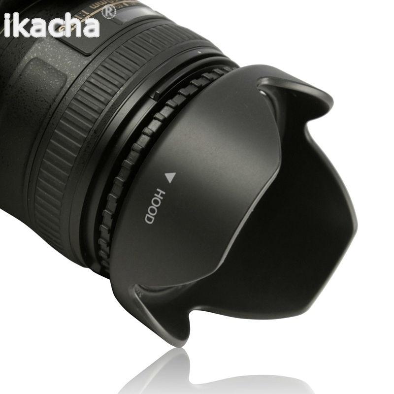 72MM Reversible pétalo flor Lens Hood para Sony Alpha A55 A65 A77...