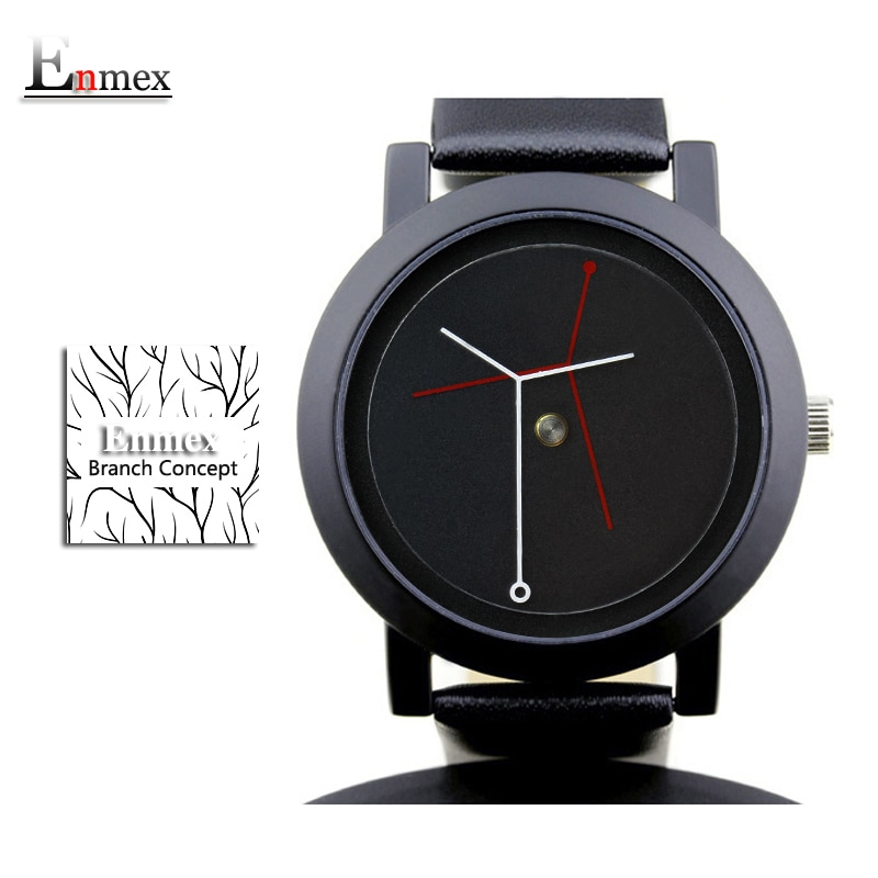 2020 gift for girl Enmex creative design  wristwatch branch concept brief simple face nature fashion quartz lady watches enlarge