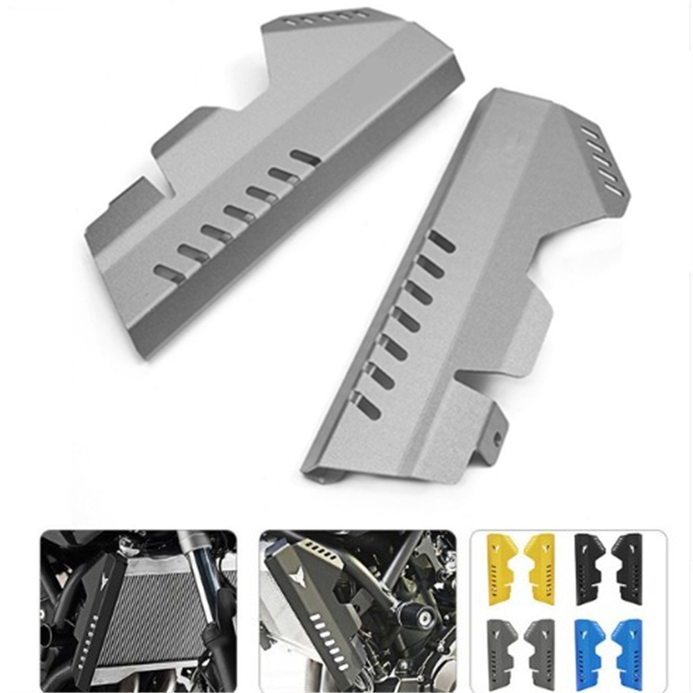 Cubierta protectora de red para tanque de agua de motocicleta de aleación de aluminio para YAMAHA MT07 MT-07 FZ07