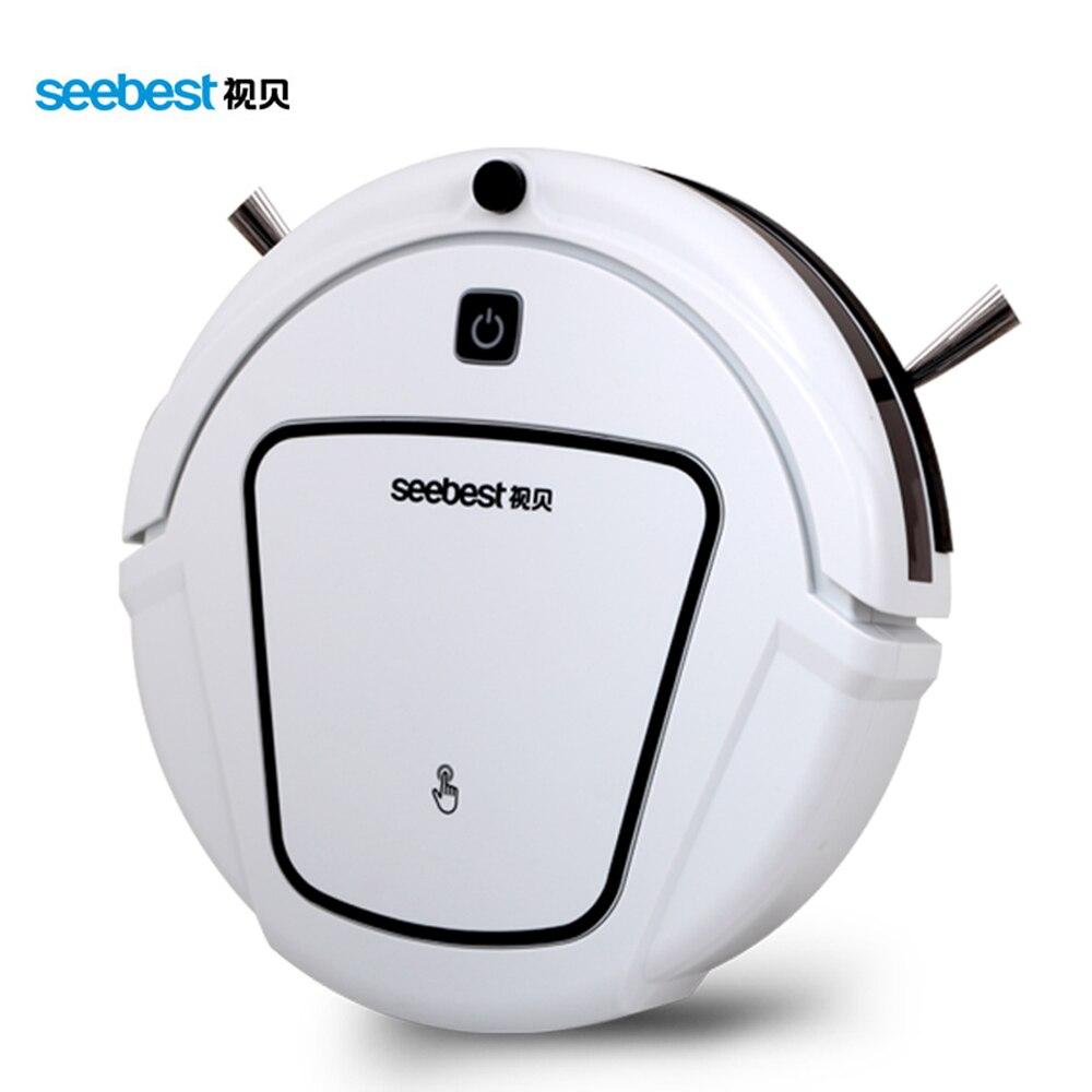 Robot de limpieza automática recargable Seebest con control remoto y limpieza al vacío robot de limpieza automática inalámbrico