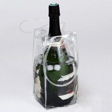 Sac de glace en PVC pour pique-nique   Glacière rapide pour bière, sac de glace dextérieur sacs de pique-nique refroidisseurs de vin, sac de glace glacé