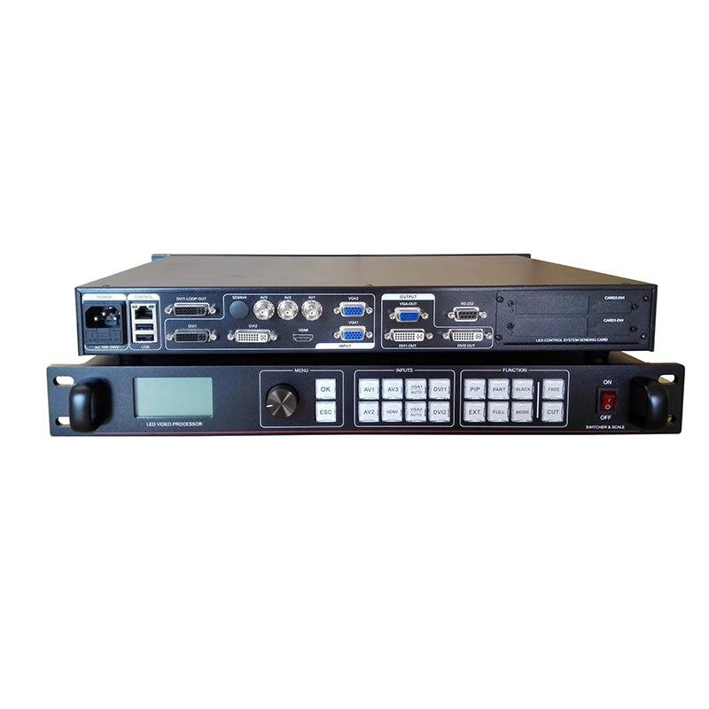 Procesador de vídeo hd a todo color con envío gratis, vídeo led, controlador de pared AMS-LVP815 a vdwall, lvp605, led-550ds, lupa led-550d