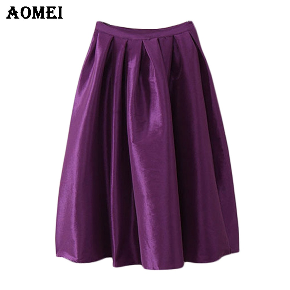 4XL 5XL High Waist faldas largas y shorts Skirt Women Long Summer Style Jupe White Midi Skirt Yellow Purple Midi faldas Longa Skirts for Girls Kilt workwear Skrit falda pantalon