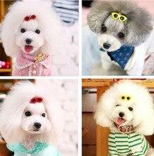 Pince à cheveux chien chiot mignon   Lunettes de soleil, épingle à cheveux, chien chat, ornements toilettage animal teddy cheveux, nœuds accessoires