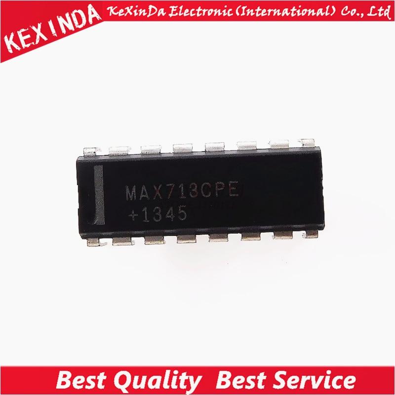 MAX713CPE MAX713 DIP-16 IC 5 pçs/lote Frete grátis