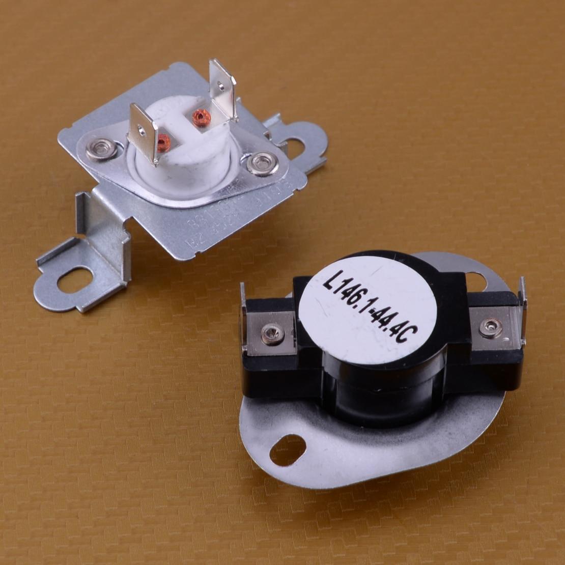 LETAOSK Neue 279973 Trockner Thermische Cut-Off Sicherung Thermostat Kit Fit Für Whirlpool Kenmore Maytag