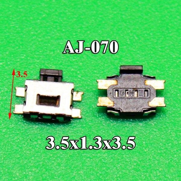 10 pçs/lote botão interruptor on off para nokia lumia 520 para sony k750 w800 w580