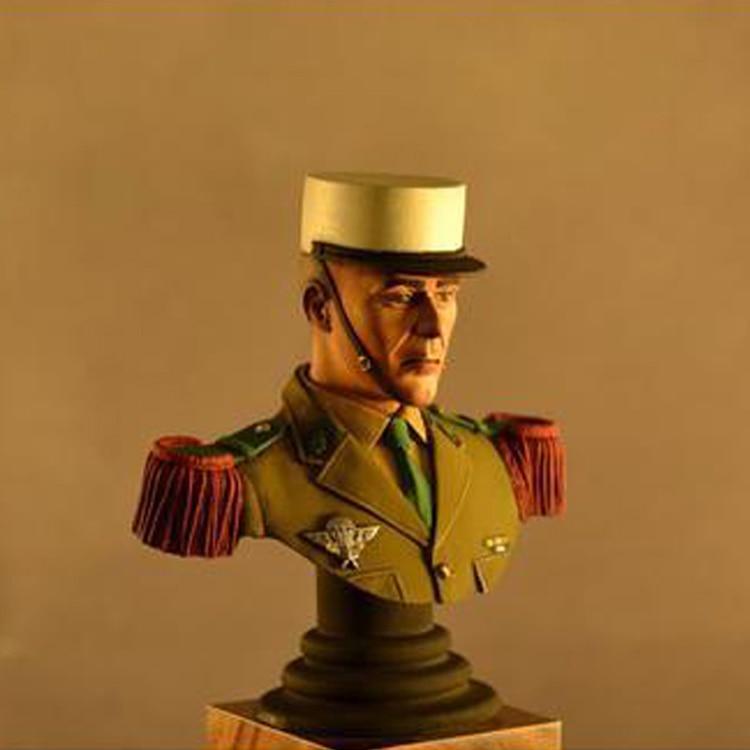 112 harz Figur Büste Modell Offizier Military Thema X174