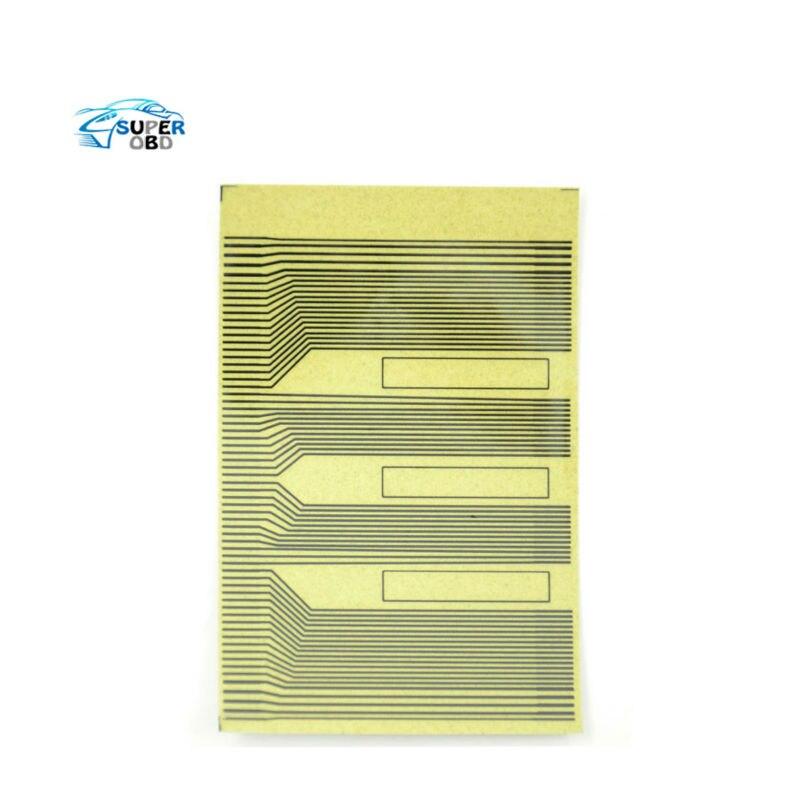 Para opel zafira omega vauxhall lcd kits de reparo de falhas de pixel fita plana cabo de reparo para/exibição siemens