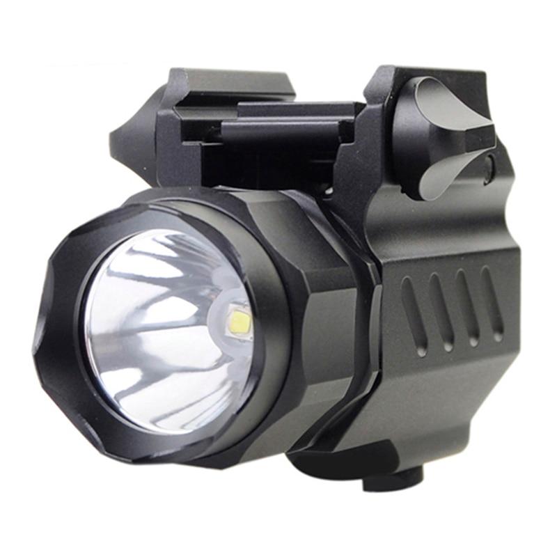 TrustFire G01 320LM 2-Modo LED Lanterna Tática Militar Pistola Revólver Arma Luzes Luz Da Tocha Lanternas Portáteis