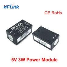 Gratis verzending 25 stuks Hi-Link ac dc 5v 3w Buck Step Down Voedingsmodule Converter smart home schakelaar power module