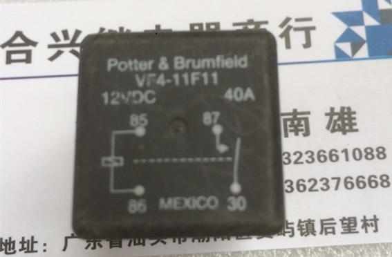 Relé de coche VF4-11F11 = 12VDC