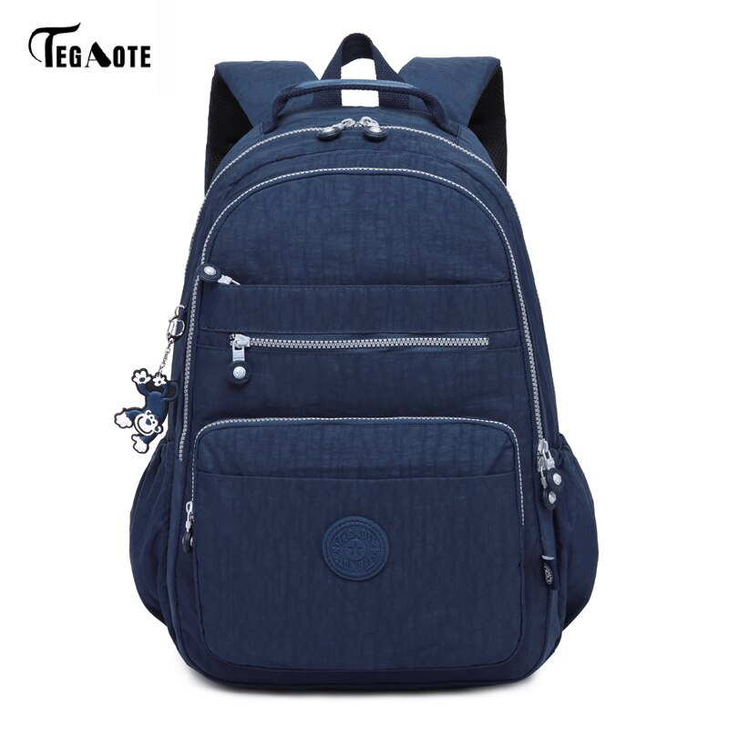 TEGAOTE Brand Laptop Backpack Women Travel Bags 2017 Multifunction Rucksack Waterproof Nylon School