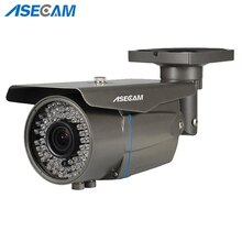 Caméra AHD CCTV HD 2 mp   1080p Zoom 2.8-12mm, sécurité varifocale, Surveillance de balles, à infrarouge 78 *, étanche, pour lextérieur