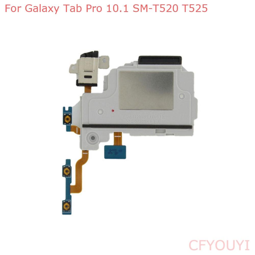 Left Loud Speaker Module Ringer Buzzer With AV 3.5mm Headphone Earphone Jack For Samsung Galaxy Tab Pro 10.1 T520 T525