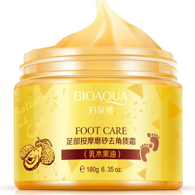 Ginger Exfoliating Foot Cream  Foot Care Pedicure Machine Skin Care Feet Dead Skin Removal Foot Exfoliator Heel Cuticles Remover
