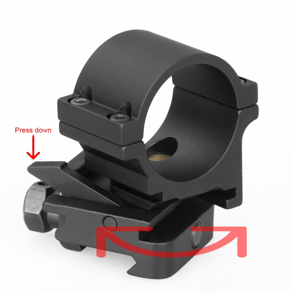 PPT Twist Mount 3X Mag CEU Mount 21.2mm picatinny weaver mount PP24-0104