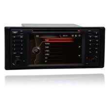 UI-voiture stéréo DVD de 7 pouces   Headunit Original pour BMW E39 X5 E53 avec GPS, Navi Bluetooth Radio RDS USB SD, commande de volant vidéo