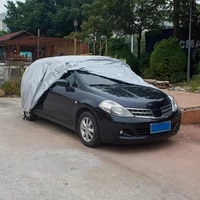 full car cover outdoor sunshade snow covers windproof dustproof protection automobile accessories