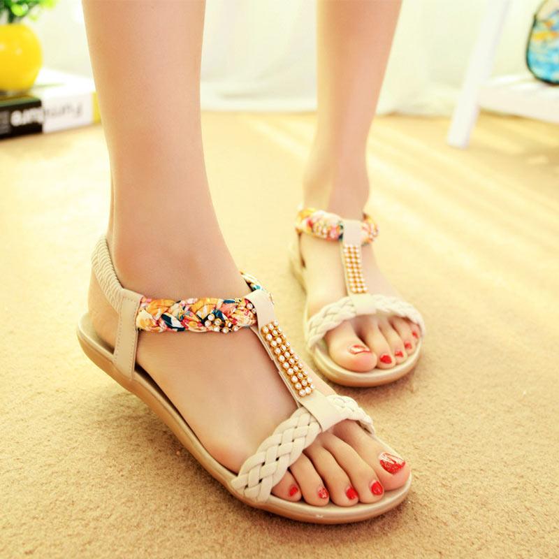 Women Sandals Summer women shoes woman Flip Flops Ladies Flat Sandals