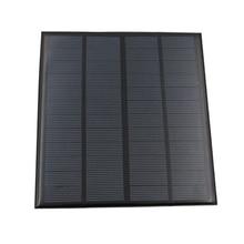 Mini panneau solaire 3W 12V, bricolage   Chargeur solaire en polysilicium, pour les activités de plein air, de bureau à domicile, SMD66, nouvelle collection