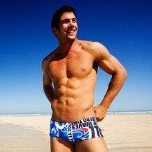 Austinbem, bañador Gay para hombre, bañadores de baño cortos para hombre, bañador Zwembroek Jongen, Bermudas para hombre, bañadores
