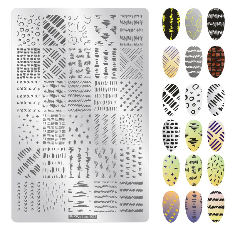 1 Uds Placa de uñas rectangular 78 estilo Animal/flor/amor placas de estampado para manicura Plantilla de Imagen 1 Uds (14,5*9,5 CM/1 uds) Placa de estampado