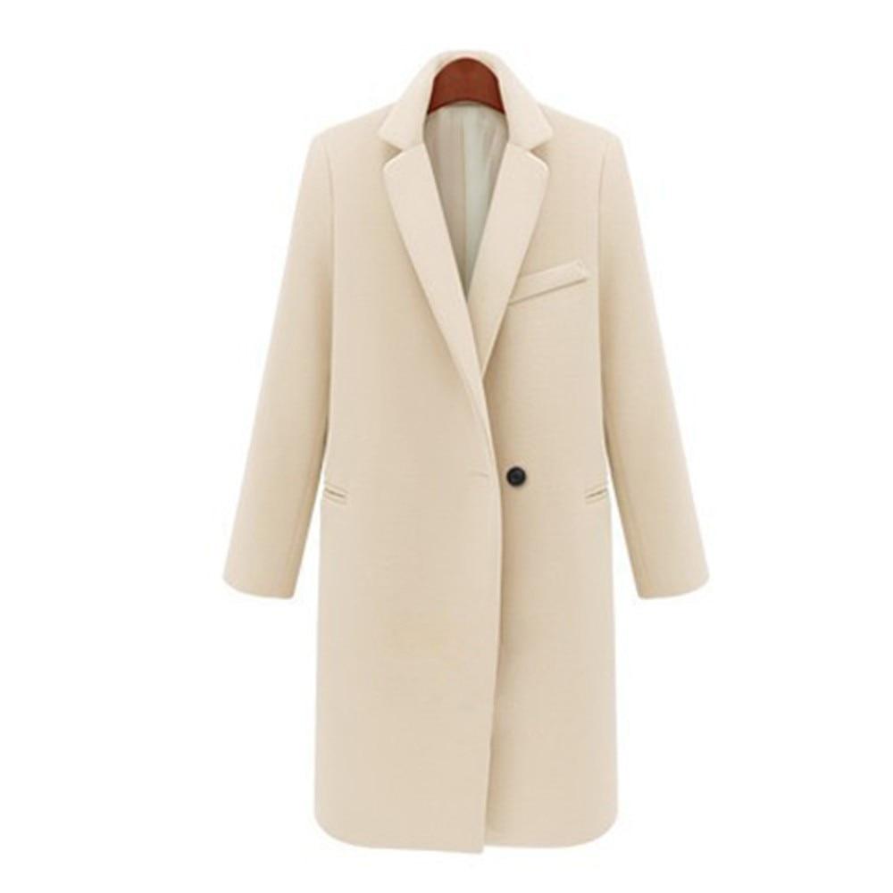 Abrigo de invierno 2020 abrigo de invierno las mujeres elegante botón cálido...