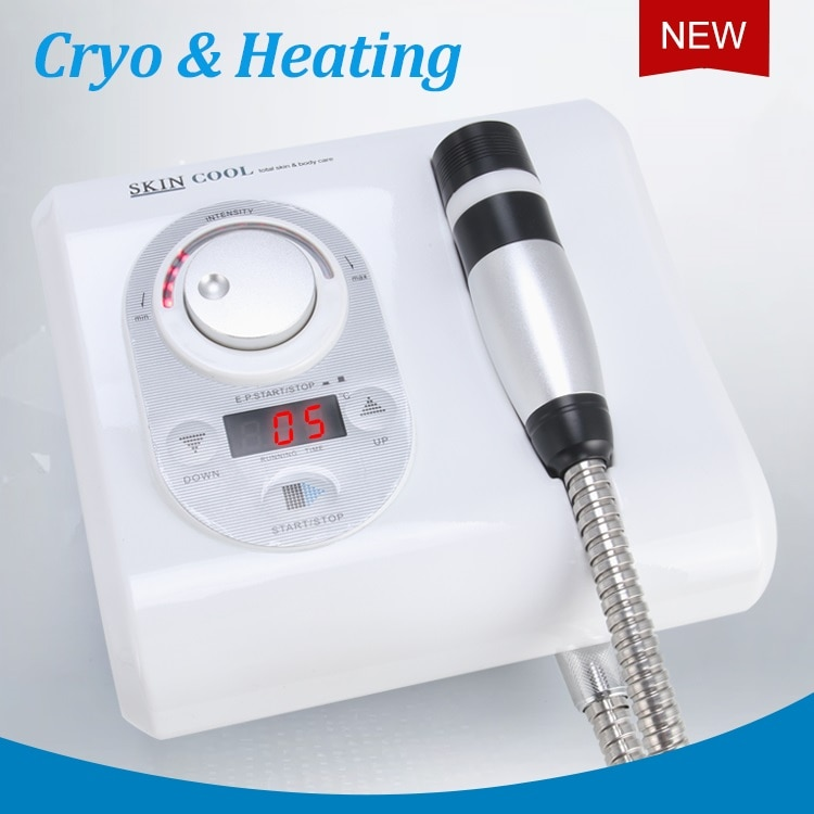 2 in 1 cryo electroporation cool fat freezing radio frequency facial machines