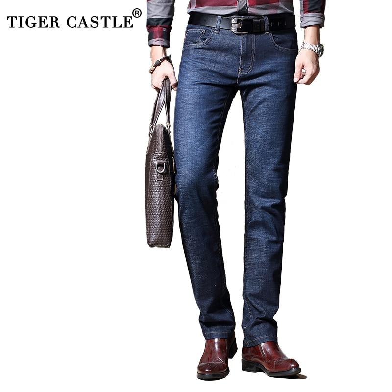 Pantalones vaqueros clásicos informales para hombre de alta calidad elásticos de ajuste Regular, pantalones azules para hombre, vaqueros de algodón para hombre de marca, talla 28-40 776