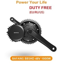 EU DUTY FREIES Bafang BBSHD BBS03 48V 1000W Mid Drive Motor Conversion Kits EbikeC965 850C Display bb68 bb100 bb120 mm