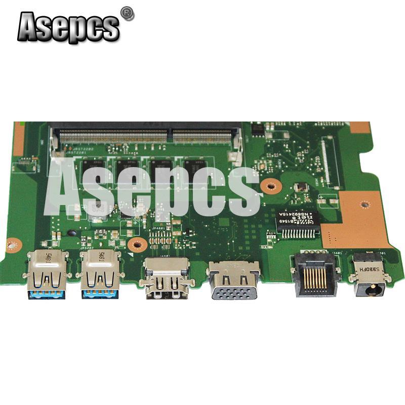 Asepcs X555LD Laptop motherboard For Asus X555LD X555LDB X555LA X555LB X555L X555 Test original Mainboard 4G-RAM I5-5200U GT920M