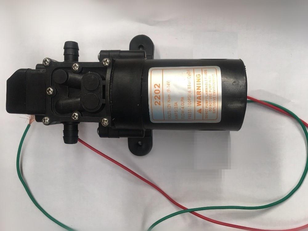 New DC 12V 36W 0.8MPA 4L/MIN Micro Diaphragm Pump Intelligent Mini Electric Self-Priming Water Pump 12 V MAX Suction 2M Quality